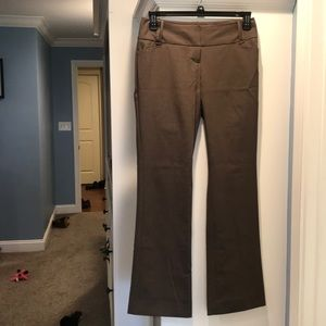 The limited tan/brown dress pants